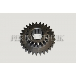 Gear Wheel A25.37.229, 1st and 2nd gear (z=18/29)