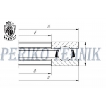 Single Direction Thrust Ball Bearing 51208 P6 (8208) (BBC-R)