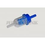 Kütusefilter, plast (diisel) GB-609, sirge