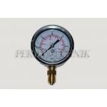 "Pressure Gauge DN63 0-6 bar, 1/4"" bottom fixing"