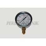 "Pressure Gauge DN63 0-60 bar, 1/4"" bottom fixing"