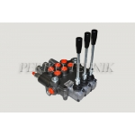 """Hydraulic Valve 80L/min 3-sections, 3 floating (L12) (P-A-B 1/2""""; T 3/4"""") (BADESTNOST)"""
