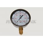 "Pressure Gauge DN100 0-600 bar, 1/2"" bottom fixing"