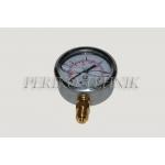 "Pressure Gauge DN100 0-2000 bar, 1/2"" bottom fixing"