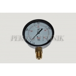 "Pressure Gauge DN100 0-400 bar, 1/2"" bottom fixing"