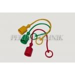"""Kaitse pistikule ISO 19 (3/4"""") (punane)"""