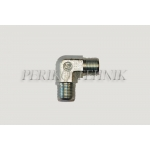 90° Adapter BSPP male 3/8""