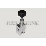 "Pressure relief valve VMD 35 02 B 2 (35 l/min, BSP 3/8"", 40-210 bar)"