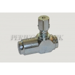 "Flow Regulator with Check Valve VRFU 3/8"", max 30 l/min"