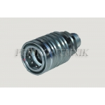 Female quick-coupling push-pull DN13, M20x1,5 male thread (cone 60 deg)