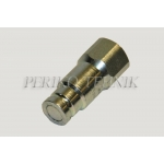 "Male Quick-Coupling ISO-16028 12.5 FLAT 1/2"" female thread"