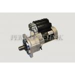 Starter Jubana 123708246, 12 V; 2,8 kW, (MTZ-320)