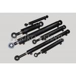 Hüdrosilinder ME 50/40x20-250-455 GE20-M20*1,5 T-16 rool