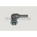 "Forged elbow 90° female fitting BSP 1/2""- DN13"