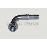 "Elbow 90° female fitting JIC 1/2"" - DN06"