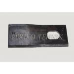 Rootorniiduki tera d=21x28 134x55x4 mm, vasak, JF 13800046