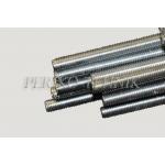 Threaded rod M14, 1 m / Zn, DIN975
