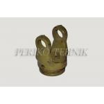 Kardaanikahvel 2-seeria, rist 23,8x61,2 mm, sidrun sisemine 34,5 mm