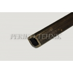 PTO Shaft Tube (inner, lemon profile) 23,5 mm 24/1000 mm