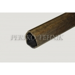 PTO Shaft Tube (outer, triangle) 43,5 mm 008/1000 mm