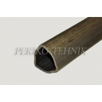 PTO Shaft Tube (outer, triangle) 54 mm 012/1000 mm
