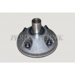 Hub 086087, axle 30 mm, 4 bolts
