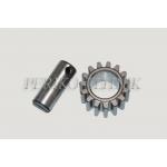 Gear+Pin 50-4202024 + 50-4202026 (MTZ-50)