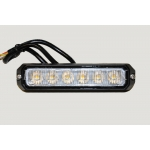 LED Strobo Light, amber 6xLED R65 R10