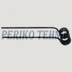 Kaaruti pii PZ-339 (vasak) (420/392x111x9,5 mm, ava 42 mm)