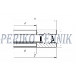 Thrust Ball Bearing 51110 (8110) (KOYO)