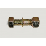 Wheel Bolt with Nut 18 mm (right)