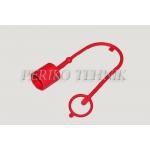 """Kaitse pistikule ISO 12.5 (1/2"""") (punane)"""