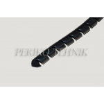 Hose Spiral Guard HDPE 09mm (09-13mm) Black