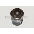 Piston Set Complete MOTORIST+ D-144, D-21, 2 oil rings, (piston+liner+piston rings+piston axle+circlips) (ZAVOD DVIGATEL)