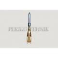 """Lägapüti siiber 6"""" kahe flantsiga 150x150mm, hüdrosilindriga (kahepoolne)"""
