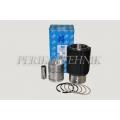 Piston Set Complete T-40/T-25/T-16, THM, 2 oil rings (piston+liner+rings+finger) (THM)