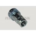 "Female quick-coupling ISO-A DN13, BSP 1/2"" female thread"
