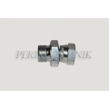 "Adapter Male BSPP 1/2"" - Swivel Female BSPP 3/4"""