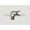 "90° Adapter Male BSPP 3/8"" - Swivel Female BSPP 3/8"""