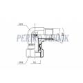 "90° Adapter Male BSPP 1/2"" - Swivel Female BSPP 1/2"""