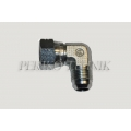 "90° Adapter Male JIC 7/8"" - Swivel Female JIC 7/8"""
