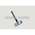 2-way Ball Valve DN06 G1/4'' with fixing holes