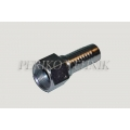 "Straight female fitting JIC 1.5/16"" - DN20"