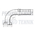 """Hose fitting SAE 3 1"""" (44,5 mm) 90° - DN20"""