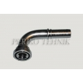 """Hose fitting SAE 6 3/4"""" (41,3 mm) 90° - DN20"""