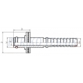 Straight swivel fitting for KARCHER, o-ring, DN06