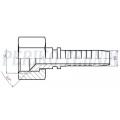 "Pressots JIC-S 3/8""sk (TOYOTA) - DN10"