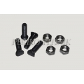 Bolt+nut for S-tine share M10x45
