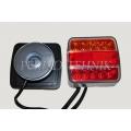 Tulede komplekt magnetiga 7,5+2,5 m, LED (14xLED, värviline lääts) (KAMAR)