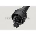 PTO shaft T8 129 35x106,3 /6x6/